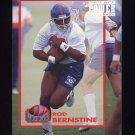 1993 Power Football Power Moves #PM05 Rod Bernstine - Denver Broncos