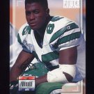1993 Power Football #185 Rob Moore - New York Jets