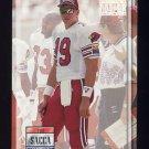 1993 Power Football #119 Tony Sacca - Phoenix Cardinals