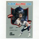 1990 Fleer Football All-Pros #07 Jim Covert - Chicago Bears