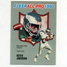 1990 Fleer Football All-Pros #03 Keith Jackson - Philadelphia Eagles