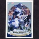 1990 Fleer Football #391 Eugene Lockhart - Dallas Cowboys