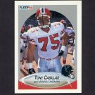 1990 Fleer Football #372 Tony Casillas - Atlanta Falcons