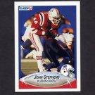 1990 Fleer Football #328 John Stephens - New England Patriots