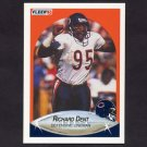 1990 Fleer Football #291 Richard Dent - Chicago Bears
