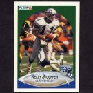 1990 Fleer Football #273 Kelly Stouffer - Seattle Seahawks