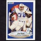 1990 Fleer Football #230 Jon Hand - Indianapolis Colts
