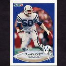 1990 Fleer Football #228 Duane Bickett - Indianapolis Colts