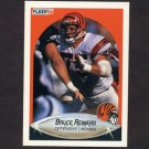 1990 Fleer Football #221 Bruce Reimers RC - Cincinnati Bengals