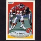 1990 Fleer Football #204 Pete Mandley - Kansas City Chiefs