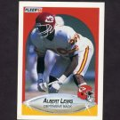1990 Fleer Football #201 Albert Lewis - Kansas City Chiefs