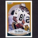 1990 Fleer Football #192 Eric Martin - New Orleans Saints