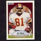 1990 Fleer Football #164 Art Monk UER - Washington Redskins