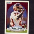 1990 Fleer Football #156 Darrell Green - Washington Redskins