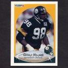 1990 Fleer Football #150 Gerald Williams UER RC - Pittsburgh Steelers