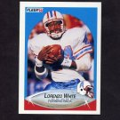 1990 Fleer Football #137 Lorenzo White - Houston Oilers