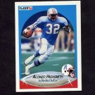 1990 Fleer Football #129 Alonzo Highsmith - Houston Oilers