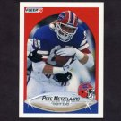 1990 Fleer Football #117 Pete Metzelaars - Buffalo Bills