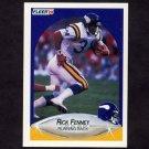 1990 Fleer Football #098 Rick Fenney - Minnesota Vikings