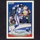 1990 Fleer Football #070 Sean Landeta - New York Giants