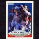 1990 Fleer Football #068 Erik Howard - New York Giants