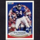 1990 Fleer Football #062 Ottis Anderson UER - New York Giants