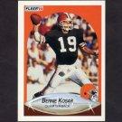 1990 Fleer Football #051 Bernie Kosar - Cleveland Browns