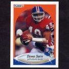 1990 Fleer Football #031 Dennis Smith - Denver Broncos