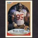1990 Fleer Football #003 Michael Carter - San Francisco 49ers