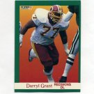 1991 Fleer Football #385 Darryl Grant - Washington Redskins