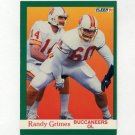 1991 Fleer Football #373 Randy Grimes - Tampa Bay Buccaneers