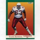 1991 Fleer Football #346 Tootie Robbins - Phoenix Cardinals