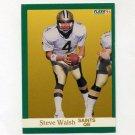 1991 Fleer Football #304 Steve Walsh - New Orleans Saints