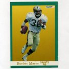 1991 Fleer Football #300 Rueben Mayes - New Orleans Saints