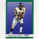 1991 Fleer Football #288 Herschel Walker - Minnesota Vikings