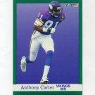 1991 Fleer Football #279 Anthony Carter - Minnesota Vikings