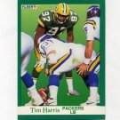 1991 Fleer Football #253 Tim Harris - Green Bay Packers