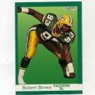 1991 Fleer Football #250 Robert Brown - Green Bay Packers