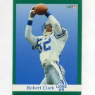 1991 Fleer Football #243 Robert Clark - Detroit Lions