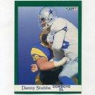 1991 Fleer Football #238 Daniel Stubbs - Dallas Cowboys
