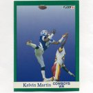 1991 Fleer Football #234 Kelvin Martin - Dallas Cowboys