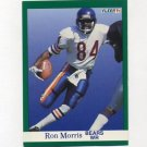 1991 Fleer Football #223 Ron Morris - Chicago Bears