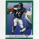 1991 Fleer Football #222 Steve McMichael - Chicago Bears