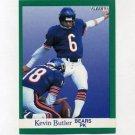 1991 Fleer Football #215 Kevin Butler - Chicago Bears