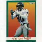 1991 Fleer Football #208 Andre Rison - Atlanta Falcons