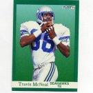 1991 Fleer Football #192 Travis McNeal - Seattle Seahawks