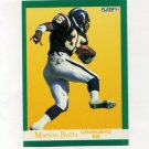 1991 Fleer Football #171 Marion Butts - San Diego Chargers