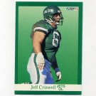 1991 Fleer Football #149 Jeff Criswell - New York Jets