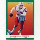 1991 Fleer Football #139 Tommy Hodson - New England Patriots