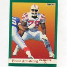 1991 Fleer Football #134 Bruce Armstrong - New England Patriots